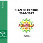 PORTADA PARTE 1 Plan de Centro 2016-2017 1